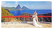 Celestial Terrace, Jade Mountain - Perfect Wedding Spot